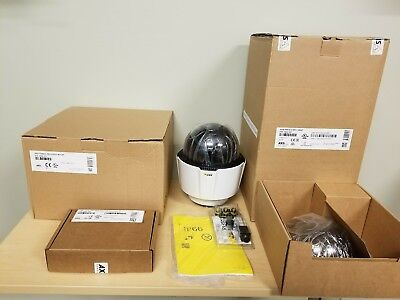 AXIS P5624-E MK II 0932-001 PTZ IP Camera HD 720p + Mount + POE adapter