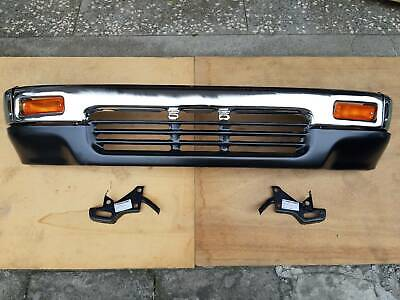 FIT FOR TOYOTA PICKUP HILUX 1989-95 2WD CHROME BUMPER W//O HOLE ASSEMBLY