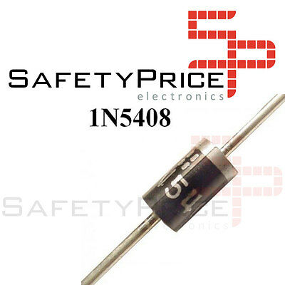 10x 1N5408 Diodes rectifiers 3A 1000V electronics Rectifier Diode