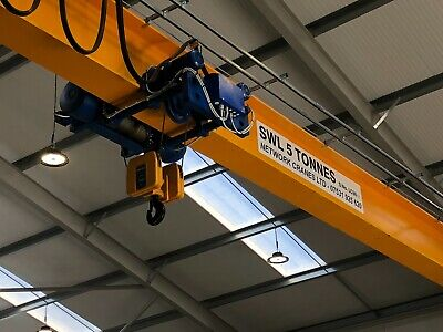 Overhead Gantry Crane Electric Hoist A Frame Lifting Beam Service Repair SWL