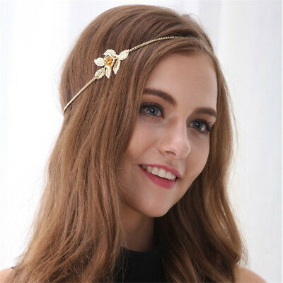 Fashion Alloy Jewelry Flowers leaves Headband Hair Band Hairpin Punk Style