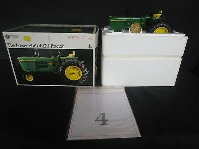 Ertl 1/16 Precision 4020 Power Shift John Deere Tractor, NIB-Mint