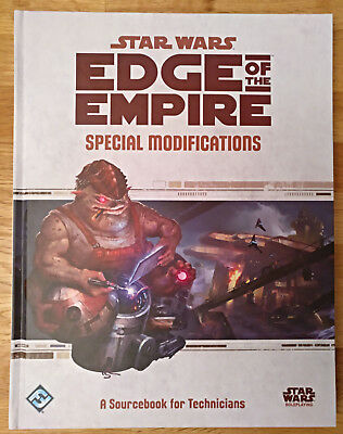 "Star Wars Edge Of The Empire RPG ""Special Modifications"" Techniker-Quellenbuch"
