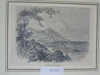 82394-Asien-Asia-China-Hongkong-T Holzstich-Wood engraving