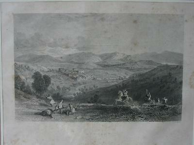 85067-Asien-Asia-Israel-Palästina-Palestine-Bethany-Stahlstich-Steel engraving
