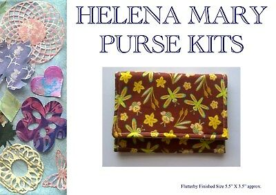 Helena Mary Purse Making Kit Complete Kit - Flutterby Purse