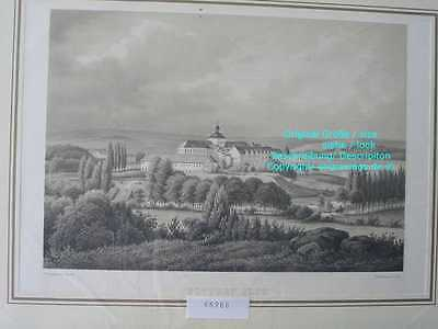 66988-Schleswig-Holstein-Gottorf-Lithographie-Lithography-1855-28x20 cm