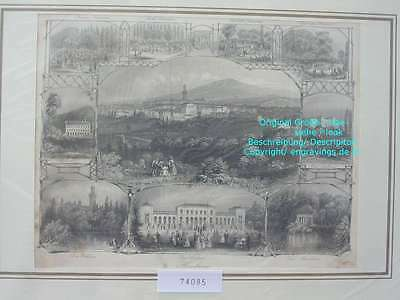 74085-Hessen-Bad Homburg-Stahlstich-Steel engraving-1860