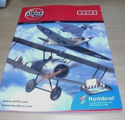 Airfix Catalogue 2018 Includes full Humbrol paint & accessory range