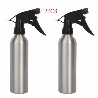 2pcs Aluminum 8oz Silver Spray Water Bottle For Tattoo Accessories Supply TA-106