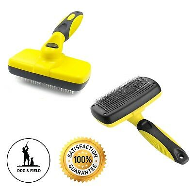 Self Cleaning Professional Pet Brush Best Cat & Dog Grooming Comb on The Market!