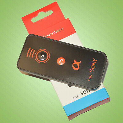 Wireless IR Infrared Remote Control for Sony Alpha A7r A7s A9 A6000 A6300 A6500