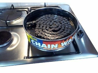 Traditional Boil In A Tin Putoline Chain Wax Lubricant With Graphite 1000G