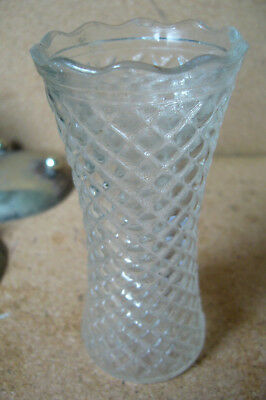 Small Cut Glass Posy Vase