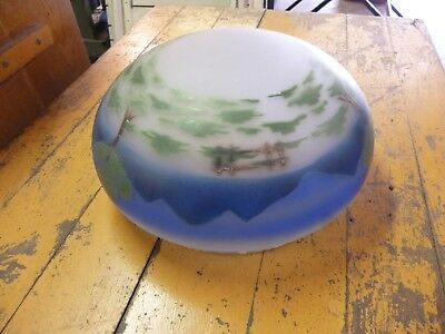 Antique Hand Painted Globe