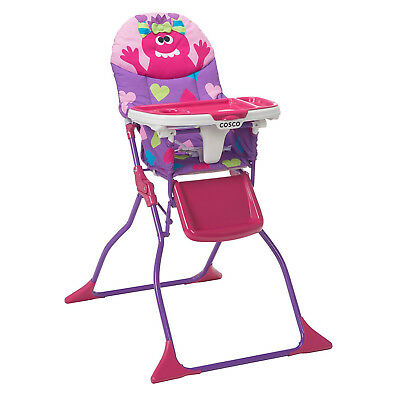 Baby High Chair Infant Toddler Feeding Tray Booster Seat Table Portable Folding