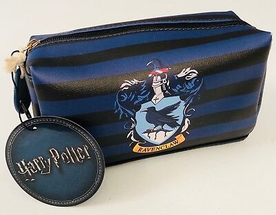 Primark Harry Potter Ravenclaw Make Up / Cosmetic / Toiletries Zip Up Bag - Bn
