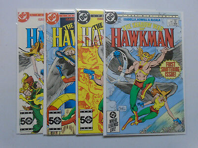 Shadow War of Hawkman, Set:#1-4, 8.0/VF (1985)