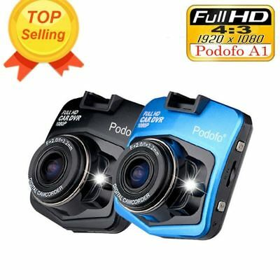 Podofo A1 Mini Car DVR Camera Dashcam Full HD 1080P Video Registration Recorder