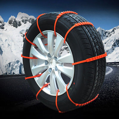 20Pcs Winter Anti-skid Chains for Car Snow Mud Wheel Tyre Thickened Tire Tendon