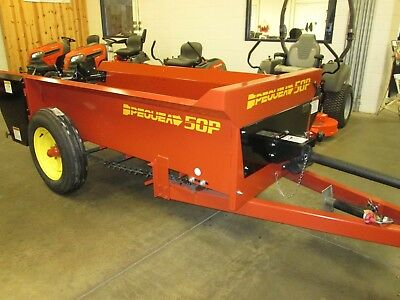 New Pequea Manure Spreader