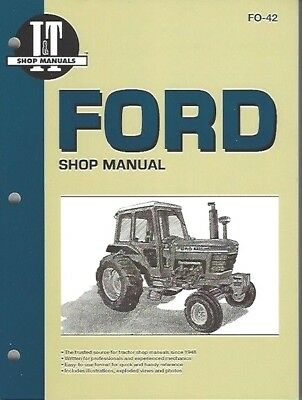 "FORD 5000,5600, 6600, 6700, 7000,7600, 7700 +'10"" Series TRACTOR WORKSHOP MANUAL"