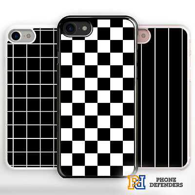 FASHION GRID CHECK GEOMETRIC CUTE TUMBLR LINE PATTERN Phone Case