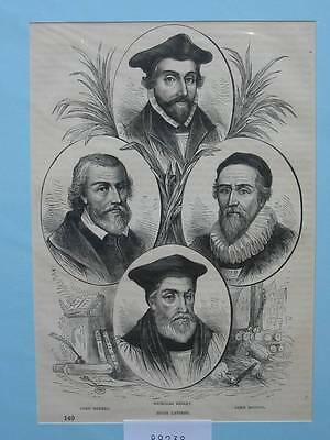 89238-Porträts-Portraits-Rogers-Ridley-Latimer-Hooper-TH-Wood engraving