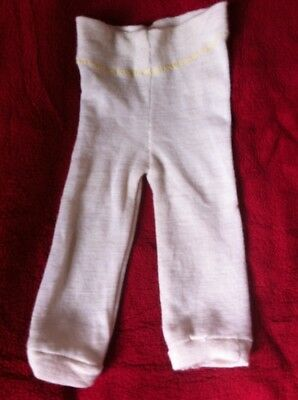 Handmade Merino wool Pants/longies Premie/ newborn Nb Longies Diaper Cover EC