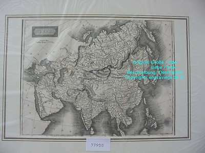 77900-Asia-Asien-Karte-Map-Kupferstich-Copper engraving-1816
