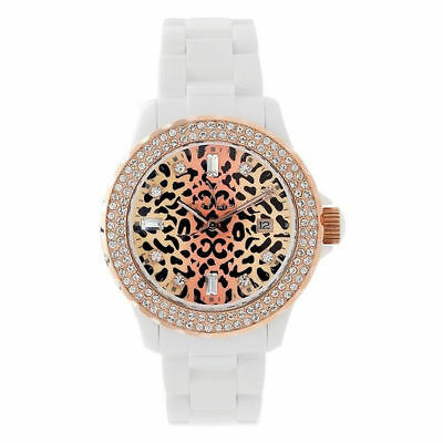 Toy Watch Women's TL62008-WHRG Cheetah Collection Watch