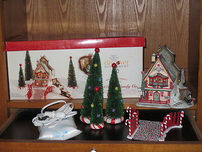 Dept. 56 North Pole Christmas Village ~ Sweet Rock Candy Co. #56725