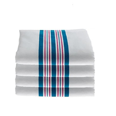 4 Pack Hospital Receiving Cotton Baby Blankets Egyptian Bedding Size 30x40 Inch