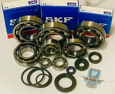 DRZ400 DRZ 400 400S 400E Bottom End Crankcase Crank Complete Bearings Seals Kit