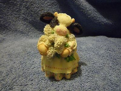 "Mary's Moo Moos "" The Coming Of Spring Brings Udder Joy "" Figurine"