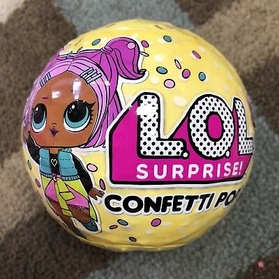LOL Surprise Confetti Pop Series 3 Dolls.  1ea Shipped Price