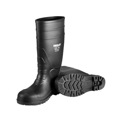 """TINGLEY Steel Toe Rubber Boots, Mens, Size 9, Black, 15"""" ASTM-  FREE SHIPPING!!!"""