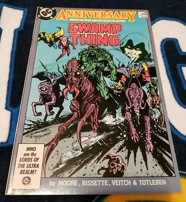 Swamp Thing 50 •1986 • Nm •  1St Justice League Dark