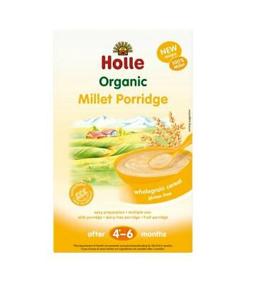 Holle Organic Millet Porridge With Wholegrain Cereal (After 4-6 Months) 250g