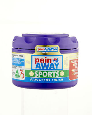 70g Painaway Sports Cream Gel Natural Relief Bruising & Pain Reduce Swelling