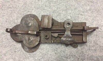 Antique Iron 16th Century Castle door lock