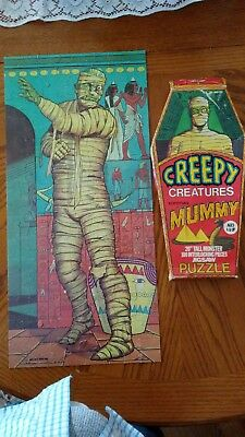Last price drop !!! 1974 hg creepy creatures mummy puzzle