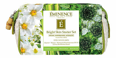 Eminence Bright Skin Starter Set. Sealed Fresh