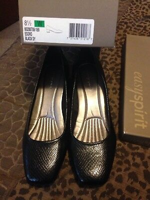 Easy spirit Esoro Black pumps size 8 1/2 Wide Brand New in box