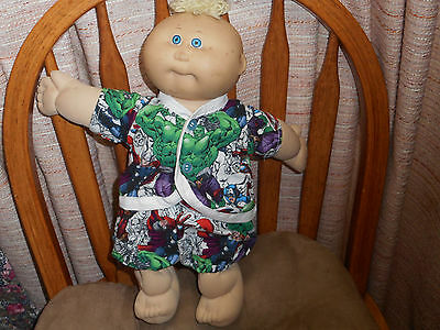 Avengers Top & Panties  Fits Cabbage Patch Preemies (New)