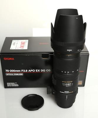 Sigma 70-200mm f/2.8 APO EX DG OS HSM Lens for Canon - EX+ Store Demo