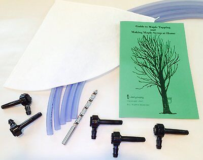 5 Tree Maple Tapping Starter Kit *Free Shipping* Sap Collecting, Syrup Making