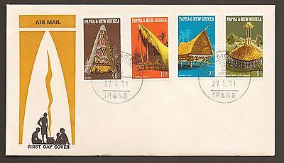 First Day Of Issue Cover - PAPUA & NEW GUINEA (1971) (Mint)