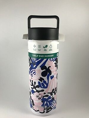 ab8a6b842a Cheeky Go Insulated Stainless Steel Water Bottle BPA free - Floral 20oz  travel