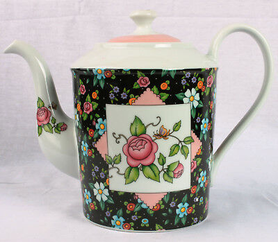 Mary Engelbreit Chintz Charming Large Tea Pot #108971   2002